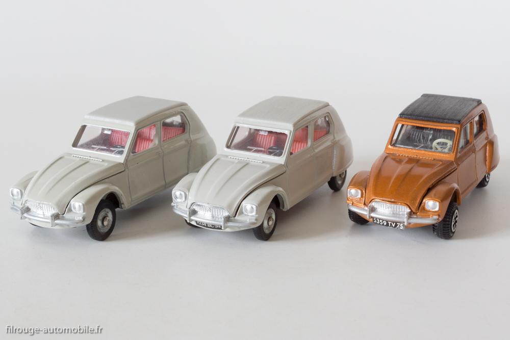 Dinky Toys France et Espagne Réf. 1413, Angleterre Réf. 149 - Citroën Dyane