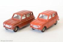 Dinky Toys 518 - Renault 4L - marron et brique