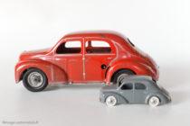 Renault 4 CV - C.I.J. réf. 5/48 au 1/20ème et réf. 3/48 au 1/43ème