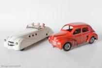 Renault 4 CV & Ford Comète sur base Viva Renault Grand Sport - 2 jouets C.I.J. au 1/20ème