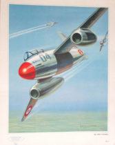 Avion - Illustration par Jean Massé