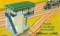 Boite HOrnby - HO - Illustration par Jean Massé