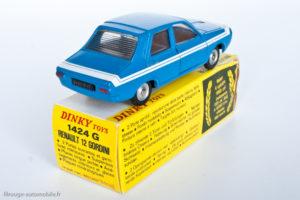 Renault 12 Gordini - Dinky Toys réf. 1424G - modèle produit en Espagne