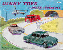 Catalogue Dinky Toys 1957 illustré par Jean Massé