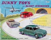 Catalogue Dinky Toys 1957 illustré par Jean Massé