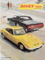 Catalogue Dinky Toys 1969 illustré par Yves Thos