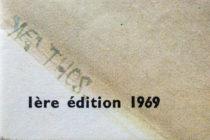 Illustration de catalogue Dinky Toys signée Yves Thos