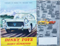 Catalogue Dinky Toys 1961 illustré par Jean Massé