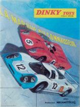 Catalogue Dinky Toys 1970 illustré par Michel Jouin