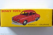 Renault Dauphine Dinky Toys - boite illustrée par Jean Massé