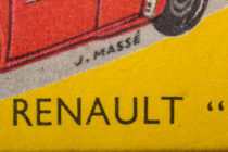 Illustration de boites Dinky Toys signé J.Massé