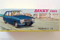 Renault 16 Dinky Toys - boite illustrée par Jean Massé