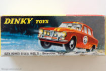 Alfa Roméo Giulia Rallye Dinky Toys - boite illustrée par Jean Massé
