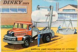 Unic Multibenne Primagaz Dinky Toys - boite illustrée par Jean Massé
