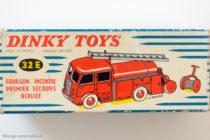 Bierliet incendie Dinky Toys - boite illustrée par Jean Massé