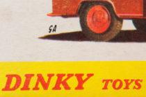 Illustration de boites Dinky Toys signée GA (?)