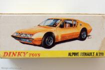 Alpine Renault A 310 Dinky Toys - boite illustrée par GA (?)