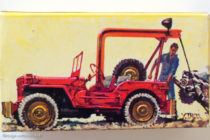 Jeep dépannage Dinky Toys - boite illustrée par Yves Thos