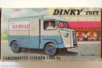 Citroën camionnette Gervais Dinky Toys - boite illustrée par Jean Massé