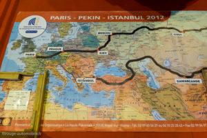 Rétro Passion Rennes 2017 - Carte Paris Pékin Istanbul 2012