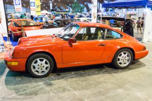 Rétro Passion Rennes 2017 - Porsche 911 type 964 carrera 2 de 1990