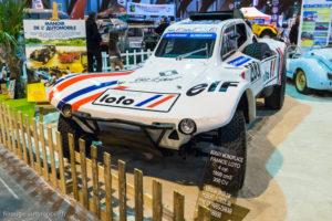 Rétro Passion Rennes 2017 - Buggy de Hubert Auriol 11ème et 12ème de Paris Dakar 89/90