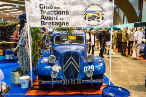 Rétro Passion Rennes 2017 - Citroën Traction raid