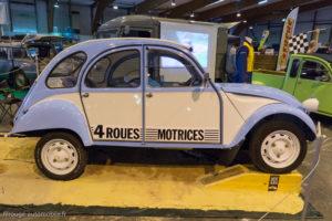 Rétro Passion Rennes 2017 - Citroën 2CV - 4 roues motrices