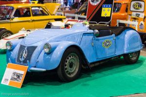 Rétro Passion Rennes 2017 - Citroën 2CV Barbot de record 1953