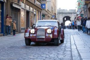 Tour Auto Optic 2000 de 2017 - Morgan Plus 4 SS dans la ville de St Malo