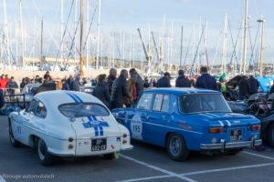 Tour Auto Optic 2000 de 2017 - DB et R8 G devant le port de St Malo