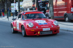 Tour Auto Optic 2000 de 2017 - Porsche 911 RS 3.0l de Derek Bell