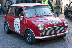 Tour Auto Optic 2000 de 2017 - Austin Mini dans la ville de St Malo