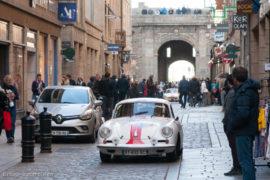 Tour Auto Optic 2000 de 2017 - Porsche 356 B Coupé 1600 S dans la ville de St Malo