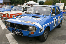 Renault 12 Gordini version rallye