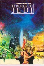 Affiche Le Retour du Jedi illustré par Michel Jouin