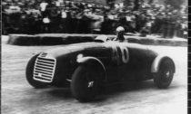 Ferrari 125 SC - 11 mai 1947 - essais de la course de Piacenza
