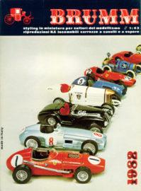 Catalogue Brumm gamme 1982