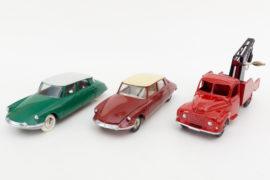 Dinky Toys de mon enfance - Editions Atlas - Les premiers modèles des 3 séries