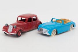 Dinky Toys de mon enfance - Editions Atlas - Citroën traction et Simca 8 - séries limitées à 50 ex. - premiers prix du concours