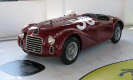 Ferrari 125 S - Réplique actuelle, version 1ère victoire GP de Rome