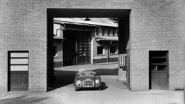 Ferrari 125 S - Première sortie de l'usine de Maranello en mars 1947