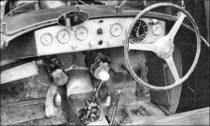 Ferrari 125 S - poste de pilotage