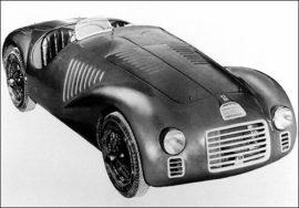 Ferrari 125 S - présentation en mars 1947