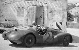 Ferrari 159 S - 2ème au Circuit de Pescara 1947