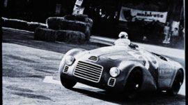 Ferrari 125 S - 25 mai 1947 - 1ère victoire d'une Ferrari au GP de Rome