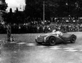 Ferrari 125 S - 25 mai 1947 - 1 ère victoire d'une Ferrari au GP de Rome
