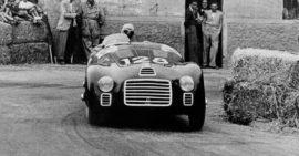 Ferrari 125 S - 11 mai 1947 - Course de Piacenza - 1ère course d'une Ferrari