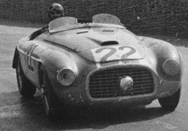 Ferrari 166 MM - Vainqueur des 24h du Mans 1949 (Photo d'époque)