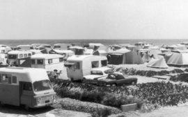 Le camping pendant les années 1960
